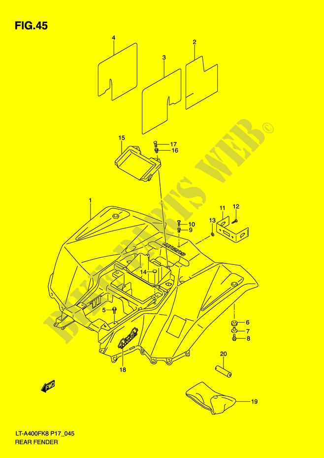 31 Suzuki Eiger Parts Diagram