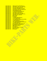 * COLOR CHART * INFORMATION 750 suzuki-motorcycle GSX-R 2002 PP053976