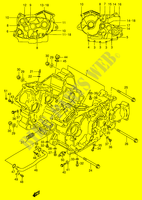 CRANKCASE for Suzuki INTRUDER 600 1997