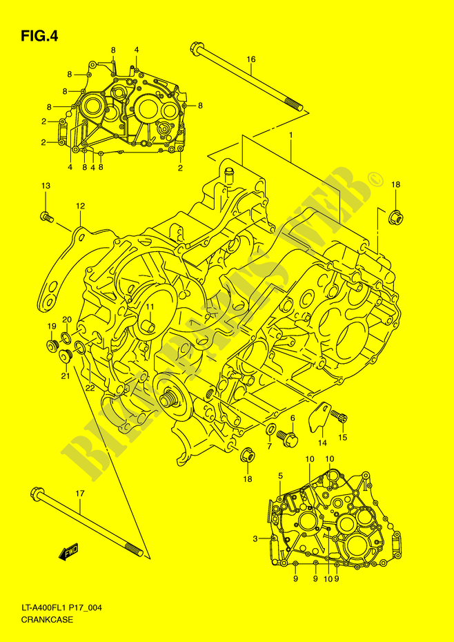 34 Suzuki King Quad Parts Diagram