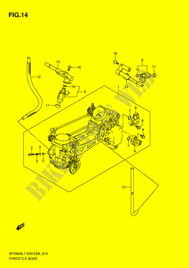throttle body sfv650al1 e28 engine transmission sfv650l1 e3 e28 2011 rh bike parts suz com 1991 BMW M5 Engine in BMW E28 bmw e28 engine bay diagram