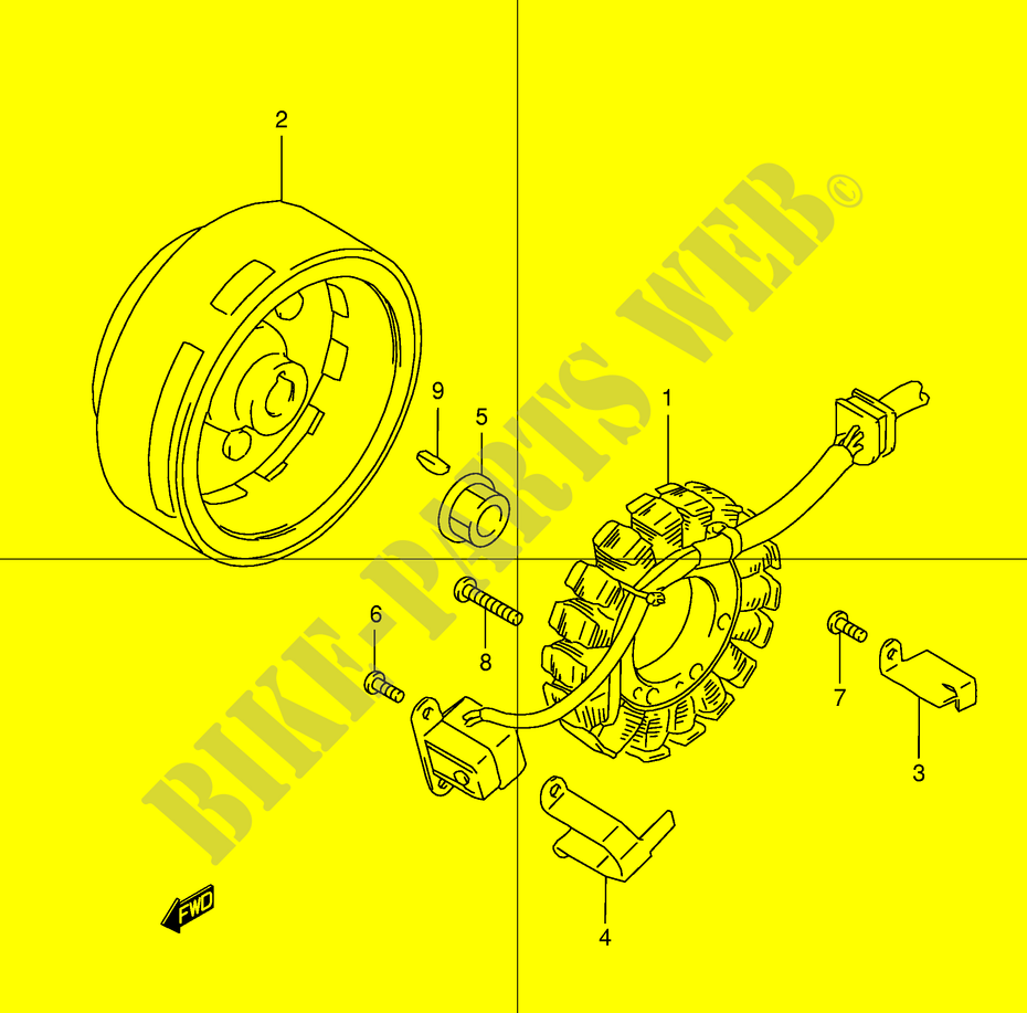 Ignition Electrical Dr250rx E24 1999 Dr 250 Moto Suzuki Motorcycle Wiring Diagrams Dr250rxe24