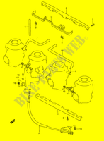 CARBURETOR FITTINGS (MODEL V/W) for Suzuki GSX-R 1100 1995