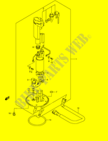 FUEL PUMP  GSX1400K5(E2) K5 2005 Motorcycle Suzuki microfiche diagram