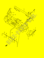 THROTTLE BODY HOSE/ JOINT (MODEL K3/ K4/ K5)  GSX1400K5(E2) K5 2005 Motorcycle Suzuki microfiche diagram