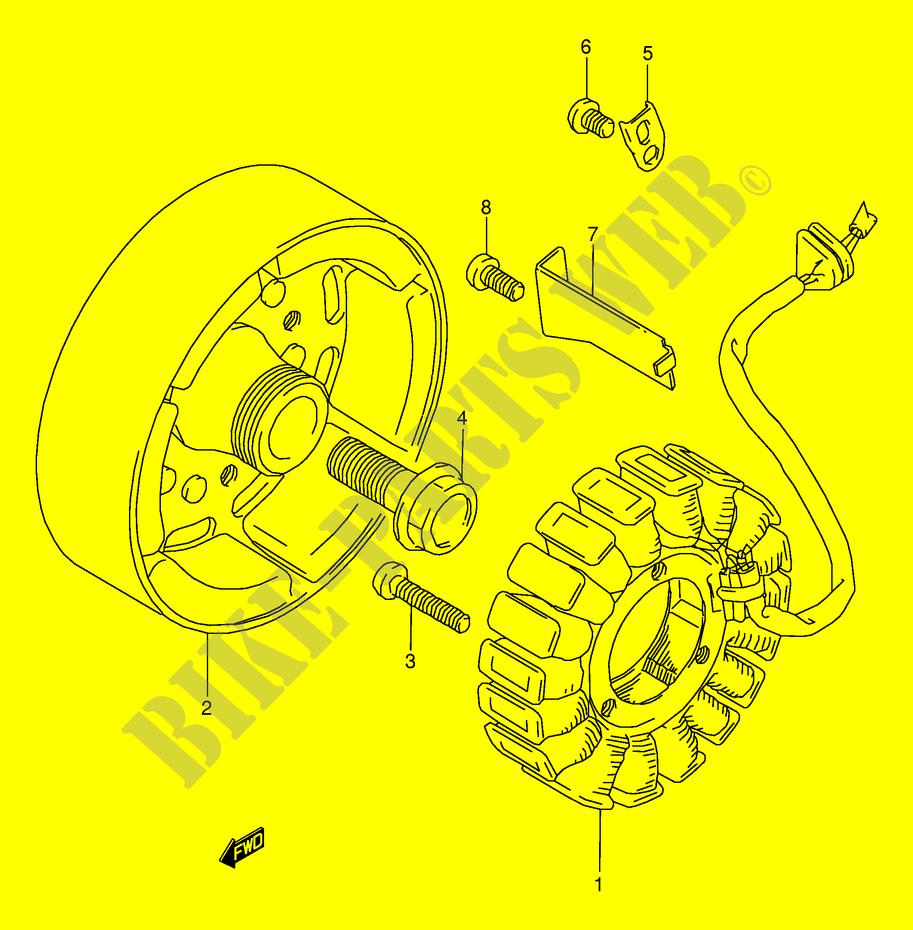 Suzuki Bandit 250 Wiring Diagram Diagrams Source For Honda 2000 Generator Electrical Gsf250vy E24 Moto