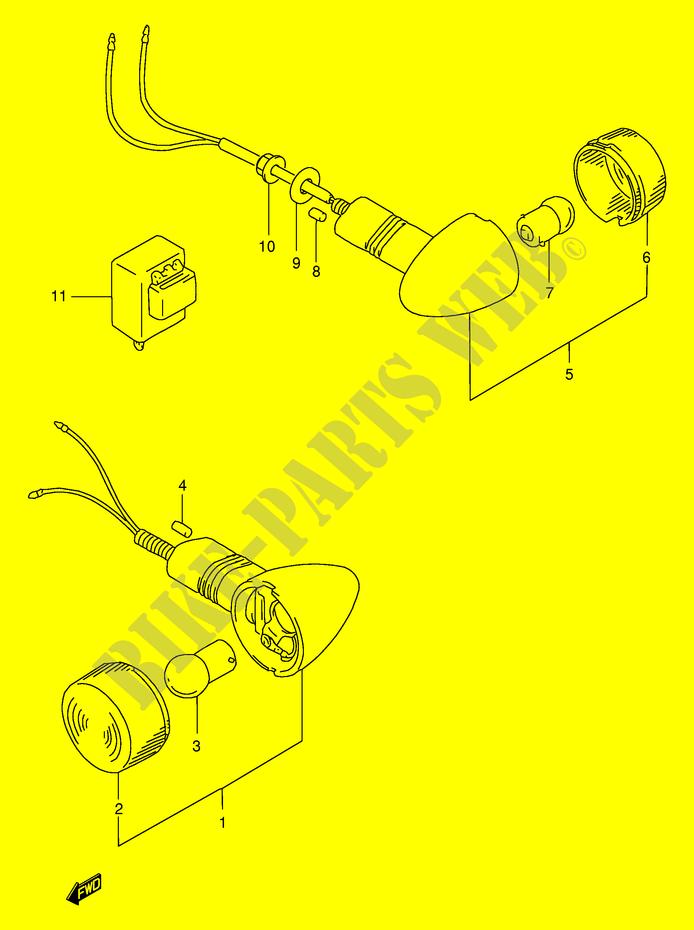 Super Indicators Electrical Gsf400Vv E30 1997 Bandit 400 Moto Suzuki Wiring Digital Resources Bemuashebarightsorg