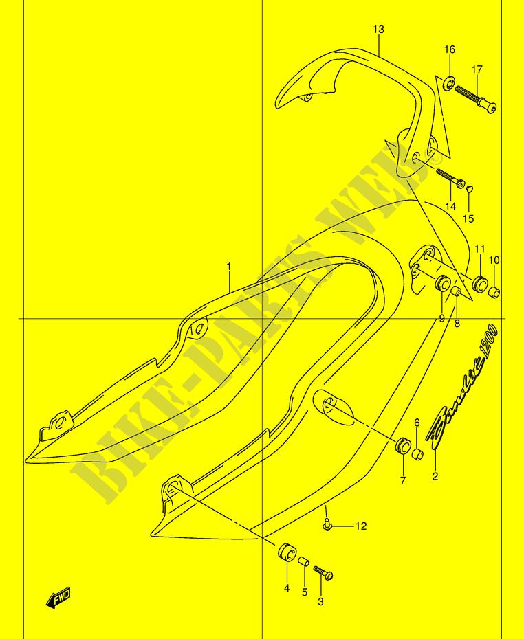Clutch Master Cylinder Repair Kit Suzuki GSF 1200 K1 Bandit    2001 1200 CC