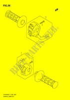 HANDLE SWITCH  DR200SEL1(E28) L1 2011 Motorcycle Suzuki microfiche diagram