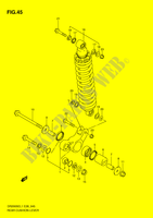 REAR CUSHION LEVER  DR200SEL1(E28) L1 2011 Motorcycle Suzuki microfiche diagram