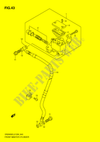 FRONT MASTER CYLINDER  DR200SEL2(E28) L2 2012 Motorcycle Suzuki microfiche diagram