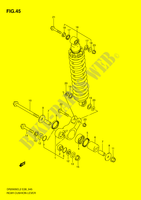 REAR CUSHION LEVER  DR200SEL2(E28) L2 2012 Motorcycle Suzuki microfiche diagram