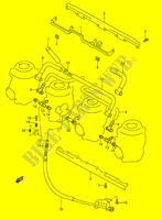 CARBURETOR FITTINGS (MODEL P/R/S/T) for Suzuki GSX-R 1100 1995