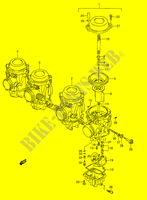 CARBURETOR (MODEL P/R/S/T) for Suzuki GSX-R 1100 1995