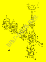 CARBURETOR (MODEL V/W) for Suzuki GSX-R 1100 1995