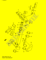 STEERING STEM (MODEL K2/ K3/ K4)  GSX1400K5(E2) K5 2005 Motorcycle Suzuki microfiche diagram