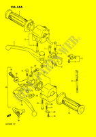 HANDLE SWITCH (E30)  GSF400N(E2) N 1992 Motorcycle Suzuki microfiche diagram