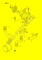 OIL PUMP for Suzuki GSX-F 1100 1990