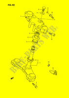 STEERING COLUMN for Suzuki GSX-F 1100 1990