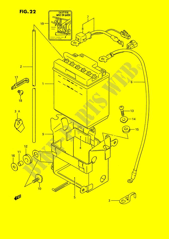 BATTERY for Suzuki 1991 # SUZUKI MOTORCYCLES - Genuine Spare ... on triumph bonneville wiring diagram, honda cb 350 wiring diagram, suzuki gsxr 750 wiring diagram, ducati 998 wiring diagram, honda shadow 1100 wiring diagram, kawasaki klr 650 wiring diagram, 2008 suzuki gsxr 600 wiring diagram, suzuki gsxr 1100 exhaust, suzuki gsxr 1000 wiring diagram, suzuki gsxr 1100 engine, kawasaki gpz 750 wiring diagram, honda cb 650 wiring diagram, honda vtr 1000 wiring diagram, yamaha ybr 125 wiring diagram, suzuki gs 1100 wiring diagram, honda xl 125 wiring diagram, triumph speed triple wiring diagram, honda cbr 1000 wiring diagram, suzuki gsxr 1100 carburetor, yamaha 1100 wiring diagram,