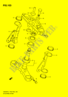 STEERING COLUMN (GS500H P28) SUSPENSION/BRAKES/WHEELS 500 suzuki-motorcycle GS 2011 DP065538