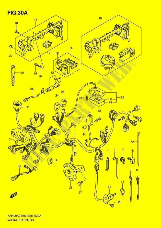 suzuki burgman 650 wiring diagram wiring diagram