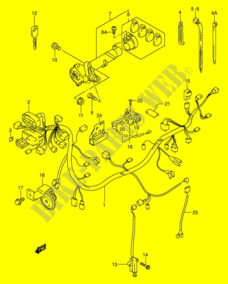 Schema Electrique Burgman 125