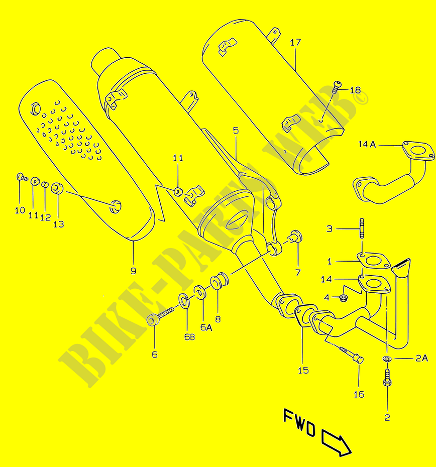 Suzuki Ay50 Wiring Diagram from www.bike-parts-suz.com