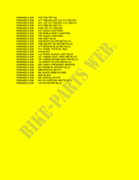 * COLOR CHART *  DR200SEL2(E28) L2 2012 Motorcycle Suzuki microfiche diagram