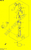 FUEL PUMP  GSR750UEL3(E21) Motorcycle Suzuki microfiche diagram
