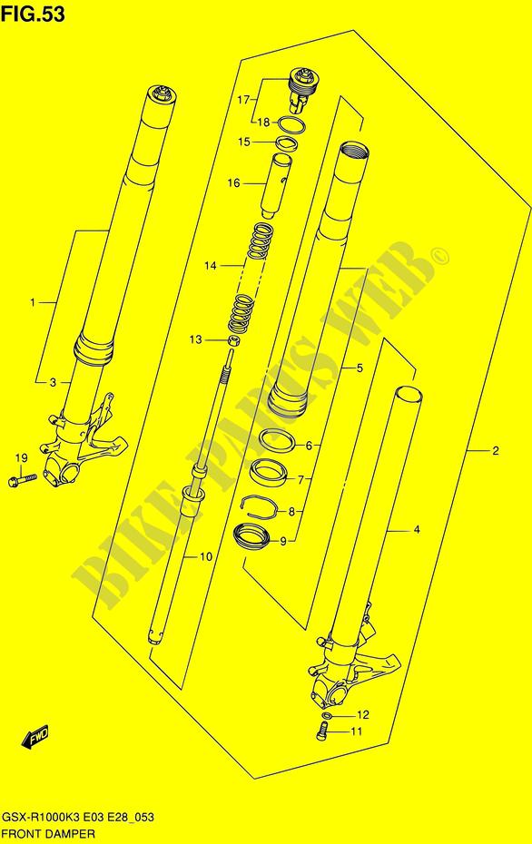 Brake Master Cylinder Repair Kit Front 1000  CC Suzuki GSX-R 1000 K3 2003
