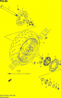 REAR WHEEL  GSX-R1000L3(E99) Motorcycle Suzuki microfiche diagram
