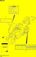 LABEL  GSX-R1000L4(E24) Motorcycle Suzuki microfiche diagram