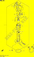 FUEL PUMP  GSX-R750UFL4(E21) Motorcycle Suzuki microfiche diagram
