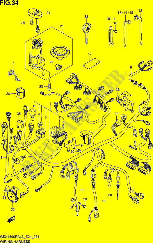 2013 Hayabusa Wiring Diagram - Somurich.com on