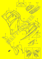 UNDER COWLING (RF900RS2)  RF900RW E02 Motorcycle Suzuki microfiche diagram