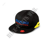 TEAM FLAT PEAK CAP YELLOW-Suzuki-Suzuki Merchandise